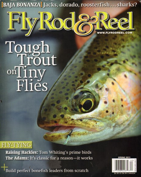 Fly Rod & Reel Magazine Cover - 6/1/2011