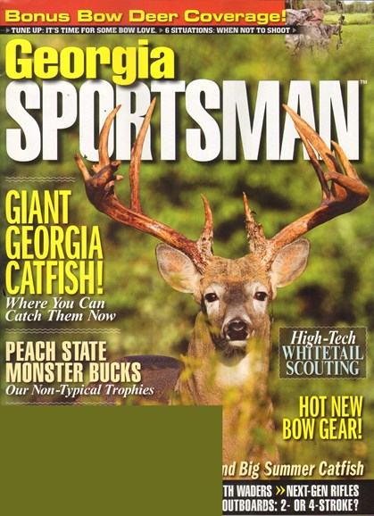 Georgia Sportsman Cover - 7/1/2011