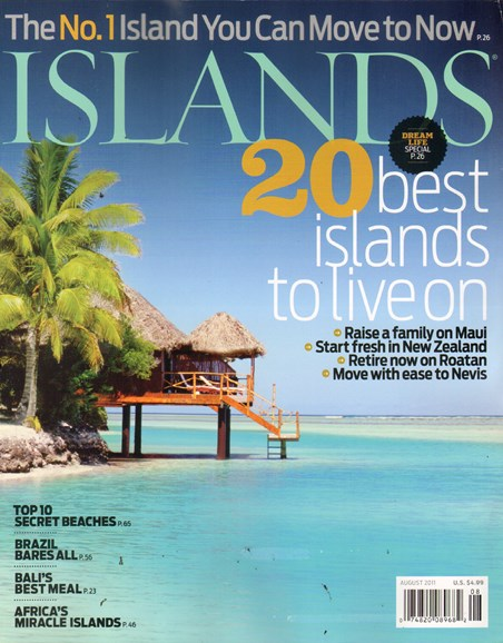 Islands Cover - 8/1/2011