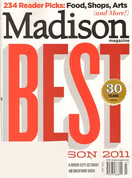 Madison Magazine Cover - 7/1/2011