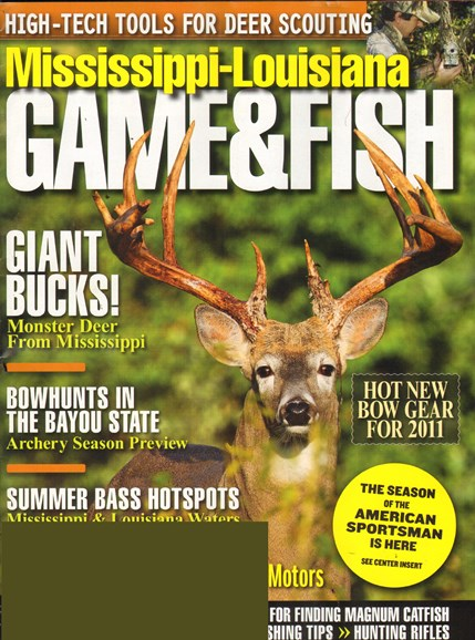 Mississippi Game & Fish Cover - 7/1/2011