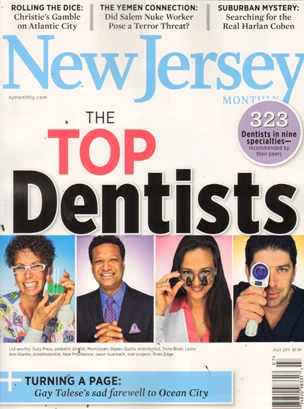 New Jersey Monthly Cover - 7/1/2011