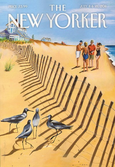 The New Yorker Cover - 7/11/2011