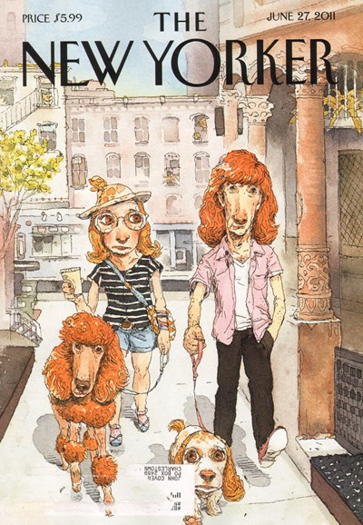 The New Yorker Cover - 6/27/2011