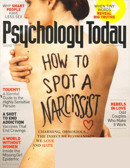 Psychology Today Cover - 8/1/2011