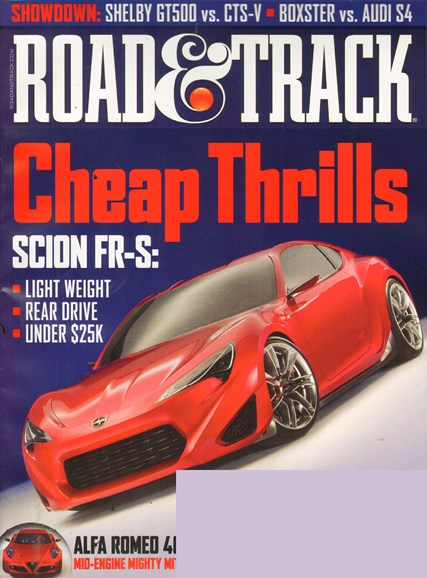 Road & Track Cover - 8/1/2011