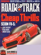 Road and Track Magazine 8/1/2011