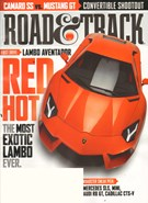 Road and Track Magazine 7/1/2011