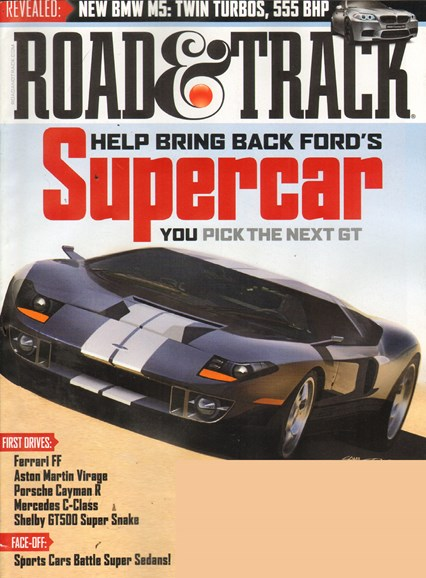 Road & Track Cover - 6/1/2011