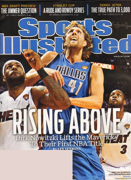 Sports Illustrated Cover - 6/20/2011