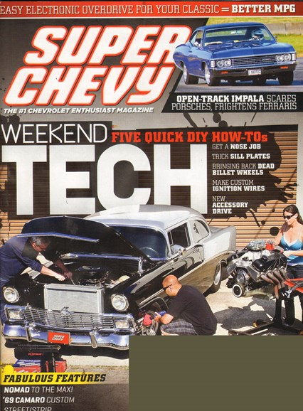 Super Chevy Cover - 8/1/2011