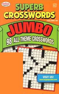 Superb Crosswords Jumbo Magazine | 8/2011 Cover