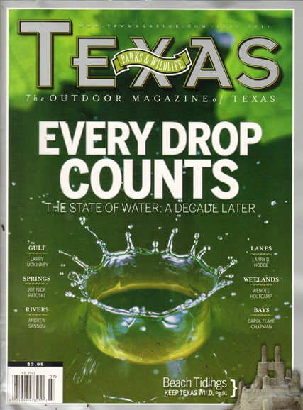 Texas Parks & Wildlife Cover - 7/1/2011