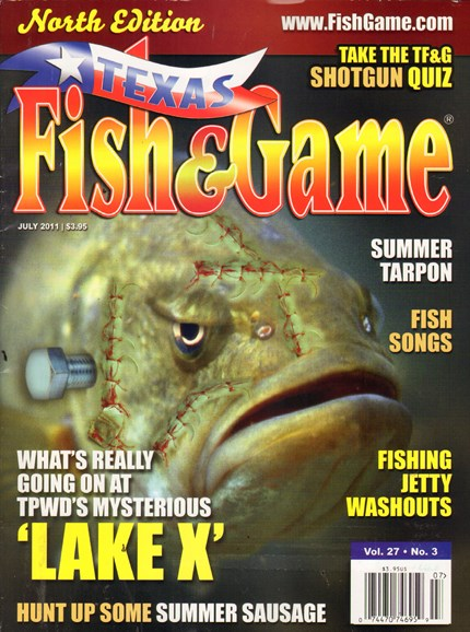 Texas Fish & Game Cover - 7/1/2011