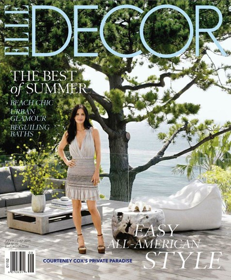 ELLE DECOR Cover - 8/1/2011