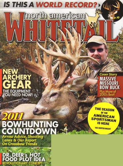 North American Whitetail Cover - 7/1/2011