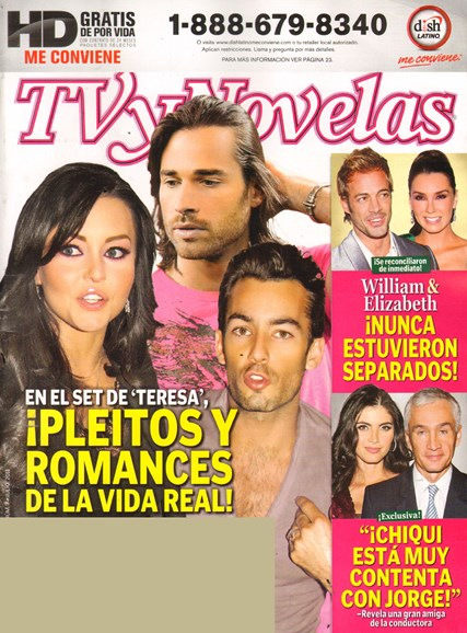Tv Y Novelas Cover - 7/1/2011