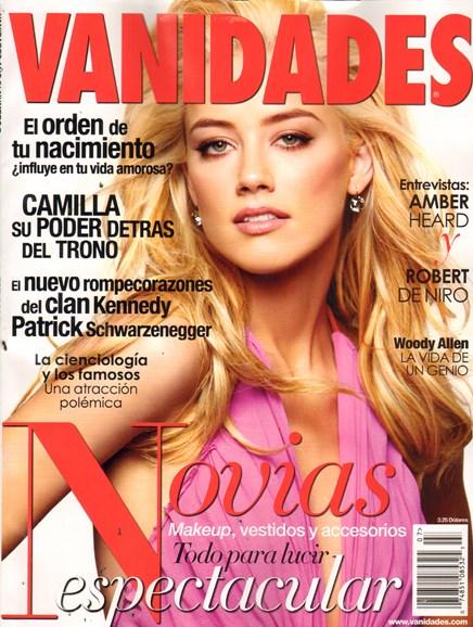 Vanidades Cover - 7/1/2011