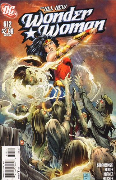 Wonder Woman Cover - 8/1/2011