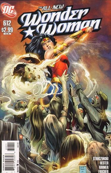Wonder Woman Cover - 8/1/2011