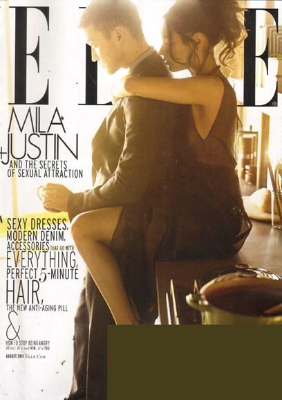ELLE Cover - 8/1/2011