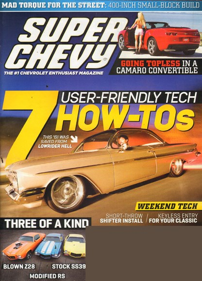 Super Chevy Cover - 9/1/2011