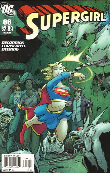 Supergirl Cover - 9/1/2011