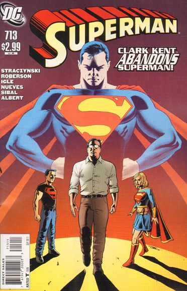 Superman Cover - 9/1/2011