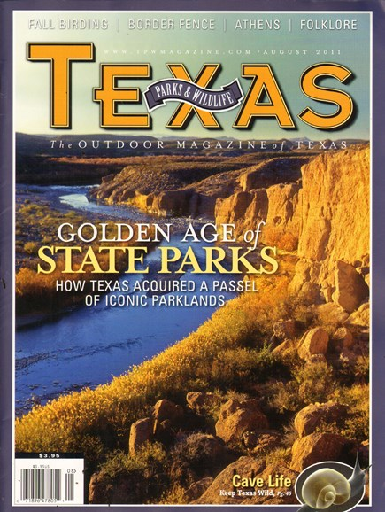 Texas Parks & Wildlife Cover - 8/1/2011