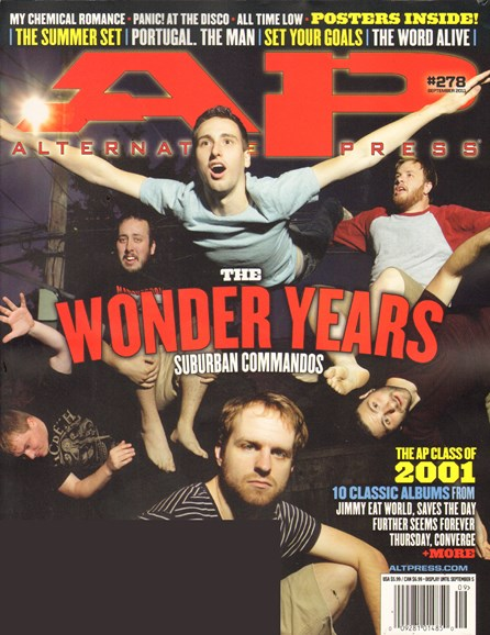 Alternative Press Cover - 9/1/2011