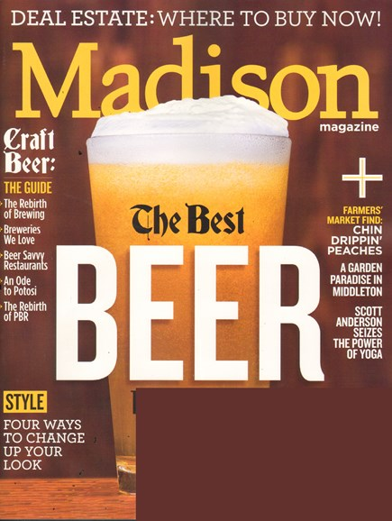 Madison Magazine Cover - 8/1/2011