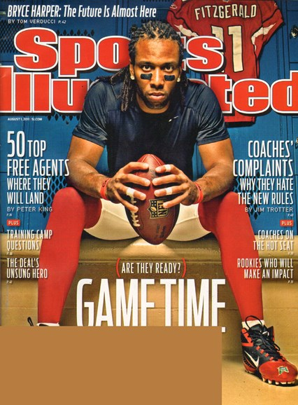 Sports Illustrated Cover - 8/1/2011