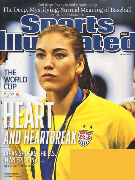 Sports Illustrated Cover - 7/25/2011