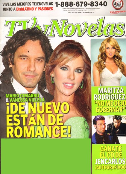 Tv Y Novelas Cover - 9/1/2011