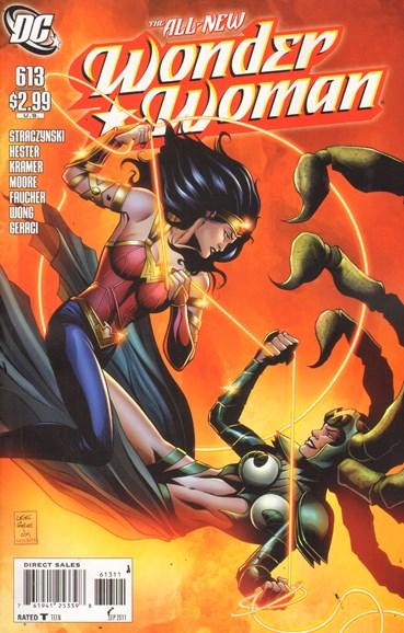 Wonder Woman Cover - 9/1/2011