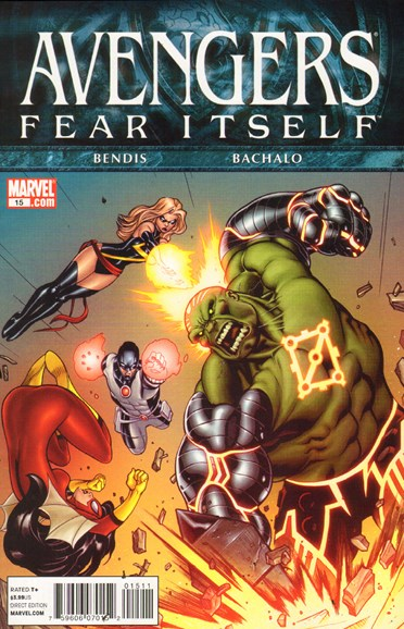 Avengers Cover - 9/1/2011