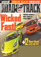 Road and Track Magazine 9/1/2011