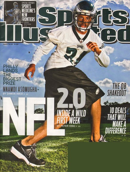 Sports Illustrated Cover - 8/8/2011