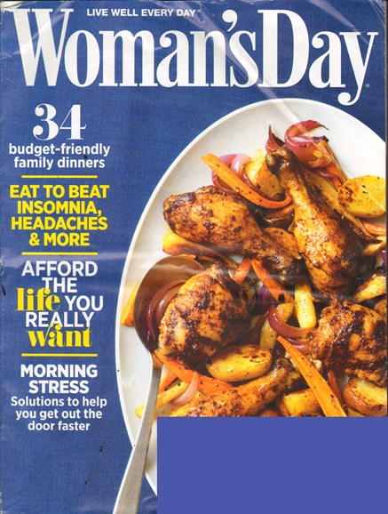 Woman's Day Cover - 9/1/2011