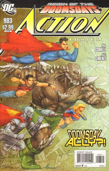 Action Comics Cover - 9/1/2011