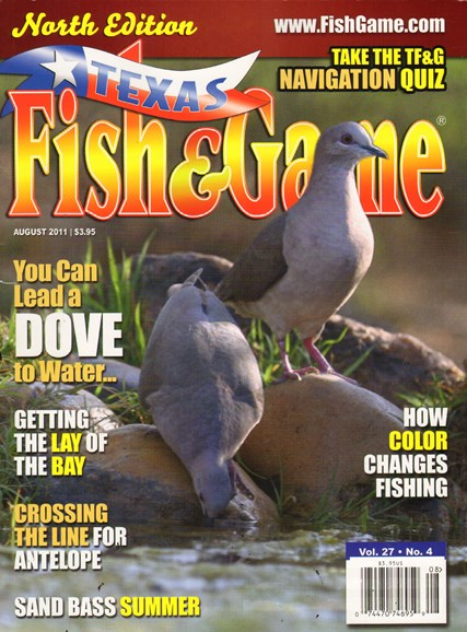 Texas Fish & Game Cover - 8/1/2011