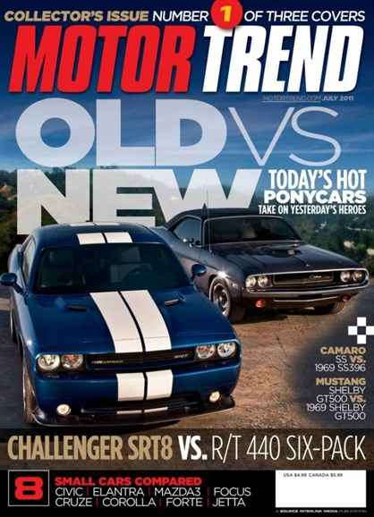 Motor Trend Cover - 7/1/2011