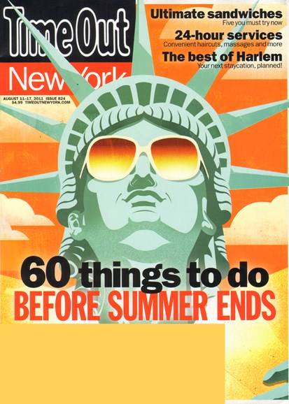 Time Out New York Cover - 8/11/2011