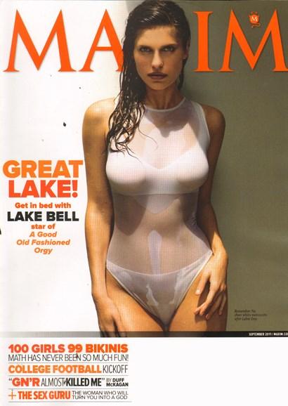 Maxim Cover - 9/1/2011