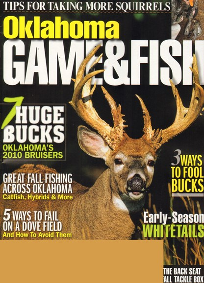 Oklahoma Game & Fish Cover - 9/1/2011