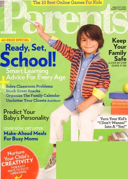 Parents Cover - 9/1/2011