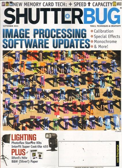 Shutterbug Cover - 9/1/2011