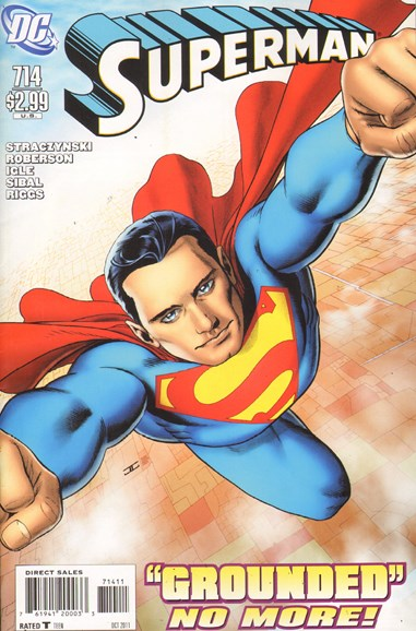 Superman Cover - 10/1/2011