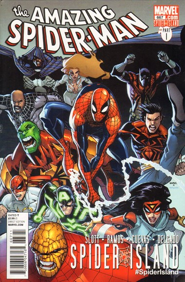 Amazing Spider-Man Cover - 9/1/2011