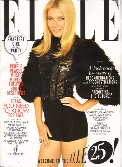 ELLE Cover - 9/1/2011